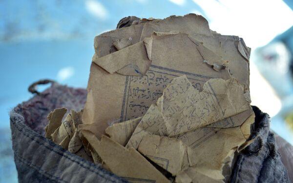 Рукописи, хранящиеся в доме со времен Мирзы Худаверди - Sputnik Азербайджан