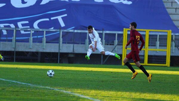 Футбольный клуб Карабах провел заключительный матч в Юношеской лиге UEFA среди футболистов до 19 лет против итальянской Ромы - Sputnik Азербайджан