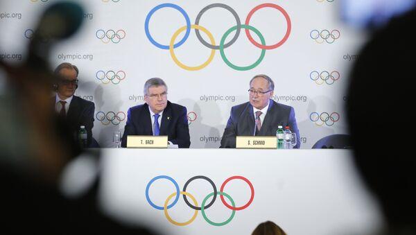 МОК объявляет решение по участию сборной РФ в Олимпиаде-2018 - Sputnik Азербайджан