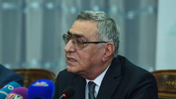 Вице-президент Национального олимпийского комитета АР Чингиз Гусейнзаде - Sputnik Азербайджан