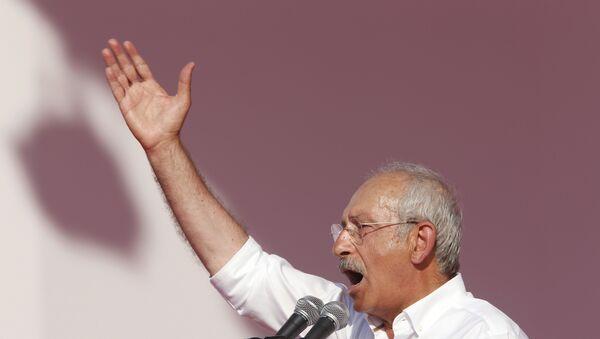 Türkiyənin Cümhuriyyət Xalq Partiyasının lideri Kamal Kılıcdaroğlu - Sputnik Azərbaycan