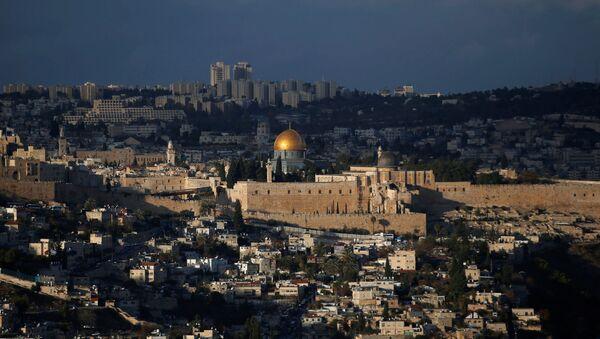 Вид на города Иерусалим, фото из архива - Sputnik Azərbaycan