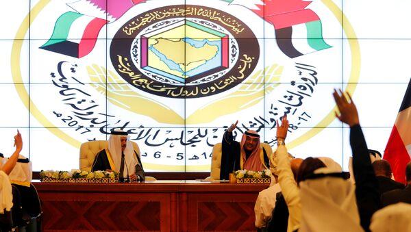 Встреча министров шести арабских стран в Кувейте, 5 декабря 2017 года - Sputnik Азербайджан