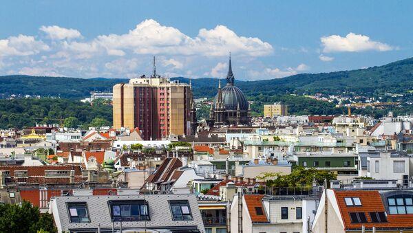 Вид на город Вену, фото из архива - Sputnik Азербайджан