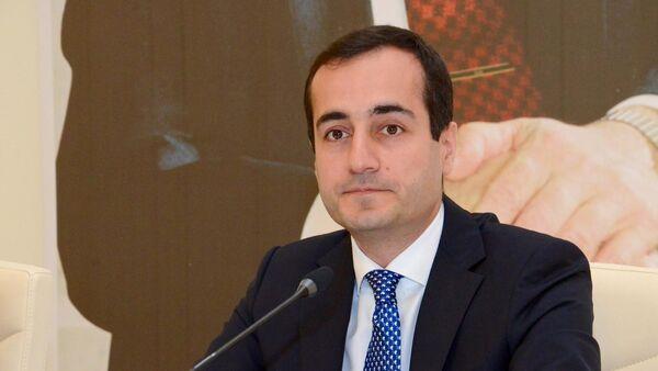 Помощник первого вице-президента Азербайджана Юсуф Мамедалиев - Sputnik Азербайджан