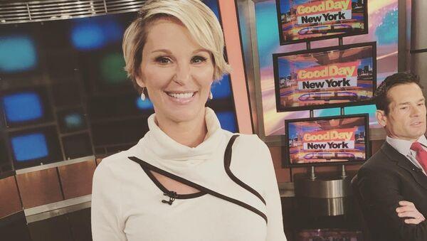 Fox News televiziyasının keçmiş əməkdaşı Juliet Huddy - Sputnik Azərbaycan
