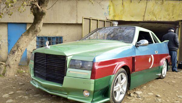 Автомобиль TOT AZ - Sputnik Азербайджан