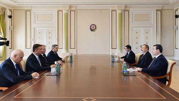 Президент Ильхам Алиев принял делегацию Государственной Думы России - Sputnik Азербайджан