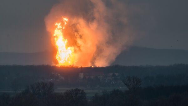 Взрыв на газопроводе в Австрии - Sputnik Азербайджан