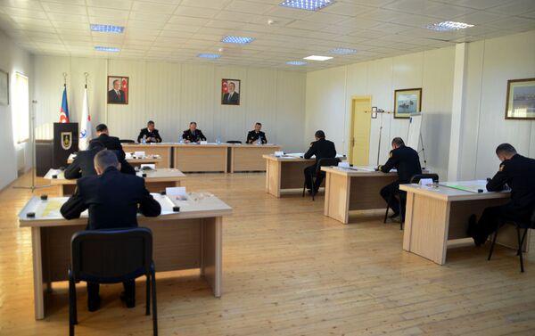 Соревнования по проверке теоретических знаний и практических навыков командного состава ВС Азербайджана - Sputnik Азербайджан