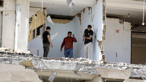 Землетрясение в Иране, фото из архива - Sputnik Азербайджан