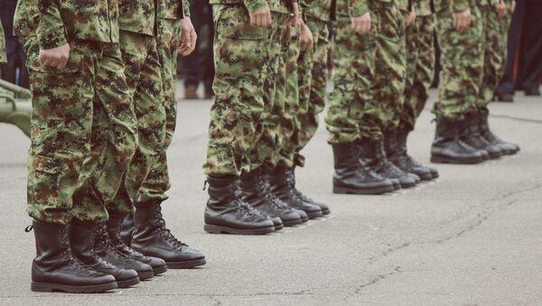 Солдаты, фото из архива - Sputnik Азербайджан