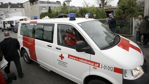 Машина скорой помощи в Австрии, фото из архива - Sputnik Азербайджан
