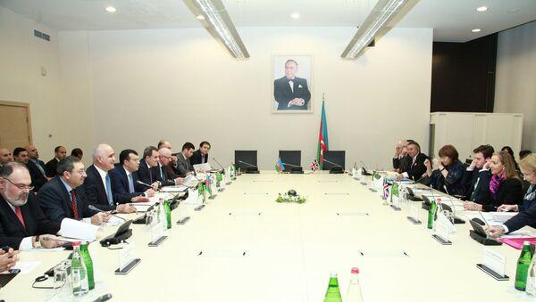 Заседание Межправительственной комиссии между Азербайджаном и Великобританией - Sputnik Азербайджан