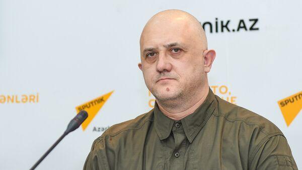 Российский политолог Евгений Михайлов - Sputnik Азербайджан