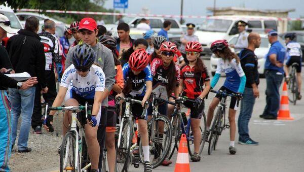 Велосипедисты в Баку, фото из архива - Sputnik Азербайджан