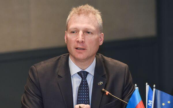 Глава представительства Европейского союза в Азербайджане Кестутис Янкаускас - Sputnik Азербайджан