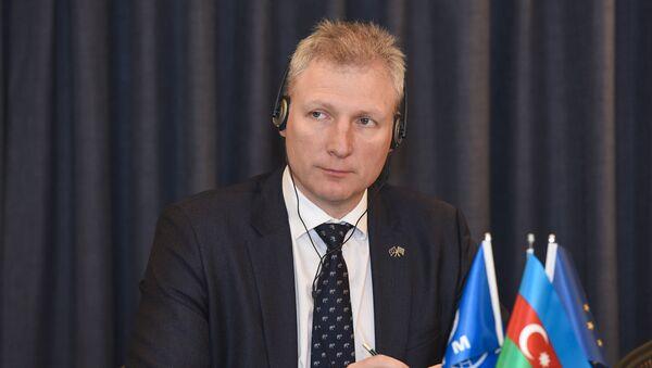 Глава представительства Евросоюза в Азербайджане, посол Кестутис Янкаускас - Sputnik Азербайджан