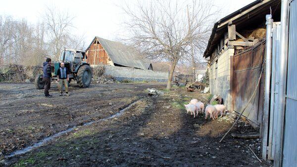 Село Гымыр в Гахском районе Азербадйжана - Sputnik Азербайджан