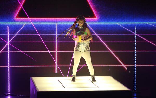 Грандиозный финал детского международного конкурса Ты супер! Танцы на НТВ - Sputnik Азербайджан