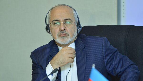 Глава МИД Ирана Мохаммад Джавад Зариф - Sputnik Азербайджан