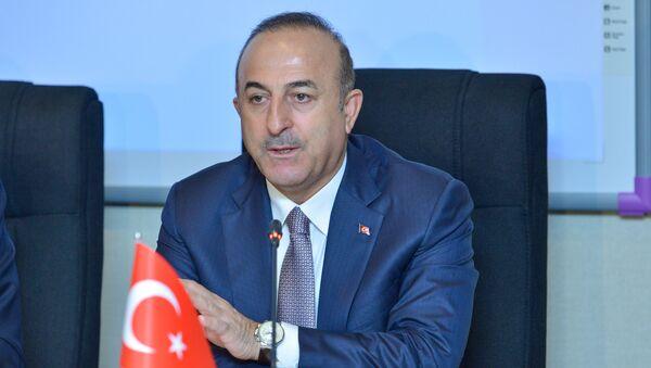 Глав МИД Турции Мевлют Чавушоглу - Sputnik Азербайджан
