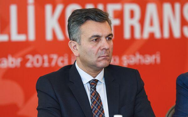 Руководитель аппарата Фонда Молодежи при Президенте Азербайджана Фаиг Гурбатов - Sputnik Азербайджан