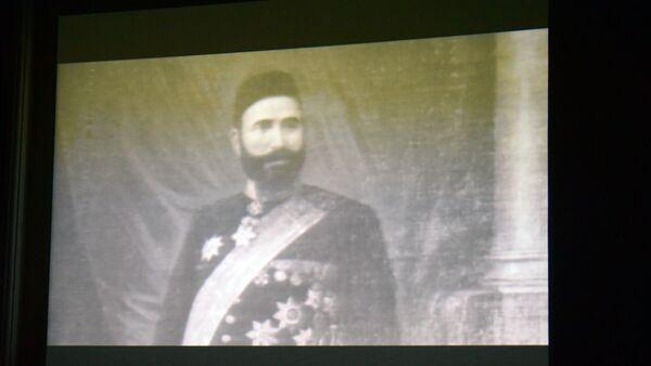 Эпизод из фильма Легенда, посвященного Гаджи Зейналабдину Тагиеву - Sputnik Азербайджан