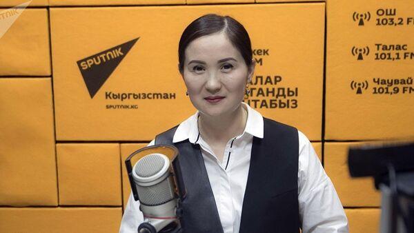 Айнура Сагынбаева - Sputnik Азербайджан