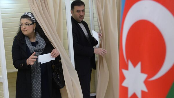 Выборы президента Республики Азербайджан - Sputnik Азербайджан