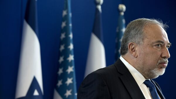 Министр обороны Израиля Авигдор Либерман, фото из архива - Sputnik Азербайджан