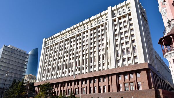 Здание Аппарата Президента Азербайджанской Республики - Sputnik Азербайджан