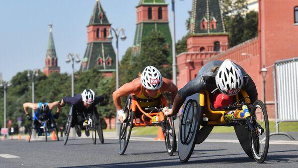 Спортсмены-паралимпийцы в Москве, фото из архива - Sputnik Азербайджан