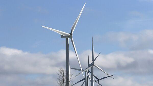 Ветряные электрогенераторы, фото из архива - Sputnik Азербайджан