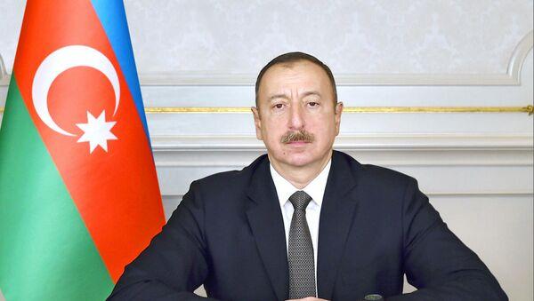 Президент Азербайджана Ильхам Алиев . - Sputnik Азербайджан