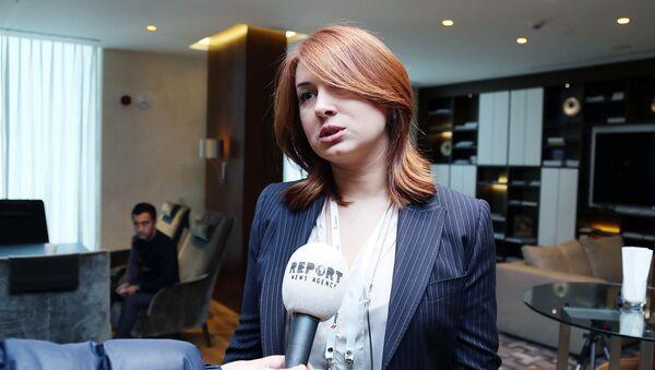 Директор AMADA Шафаг Гусейнли - Sputnik Азербайджан