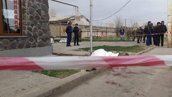 Убийство российского военнослужащего в Гюмри - Sputnik Азербайджан