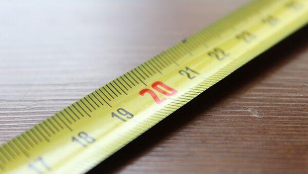 Сантиметр, фото из архива - Sputnik Azərbaycan