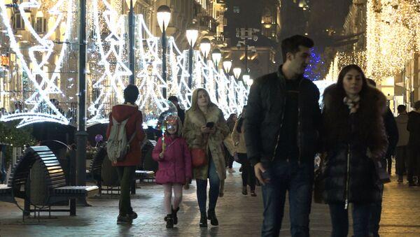 Bakı gecələri: Yeni ilə qədər geri sayım başladı - Sputnik Azərbaycan