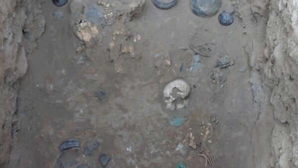Археологические раскопки в Гяндже - Sputnik Азербайджан