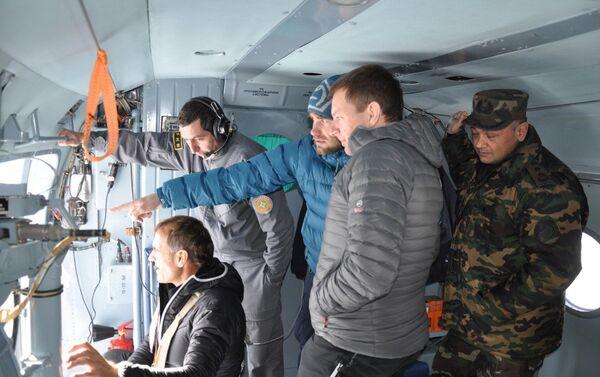 Поиски пропавших на территории Губинского района альпинистов - Sputnik Азербайджан