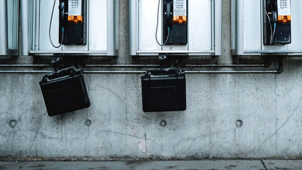 Таксофоны, фото из архива - Sputnik Азербайджан
