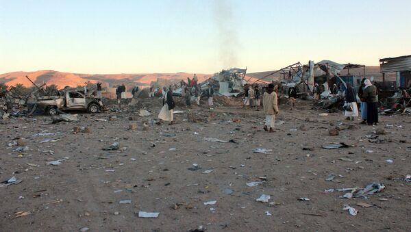 Ситуация в провинции Саада на севере Йемена, фото из архива - Sputnik Азербайджан