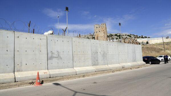 Cтена на границе Турции с Ираном, фото из архива - Sputnik Азербайджан