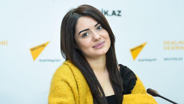 Азербайджанская певица Мина - Sputnik Азербайджан