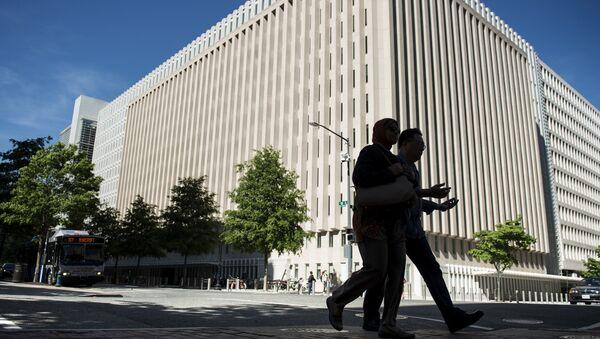Штаб-квартира Всемирного банка в Вашингтоне, фото из архива - Sputnik Азербайджан