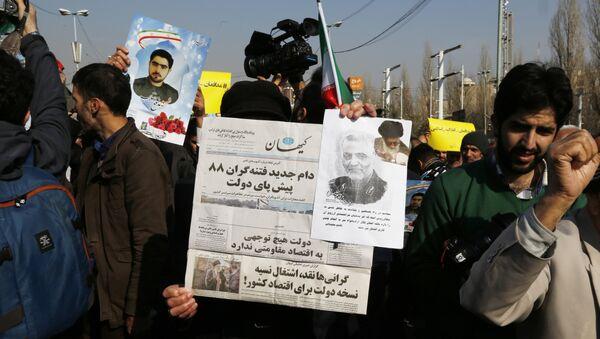 Беспорядки в Иране, фото из архива - Sputnik Азербайджан