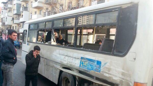 ДТП с участием маршрутного автобуса в Баку, архивное фото - Sputnik Азербайджан