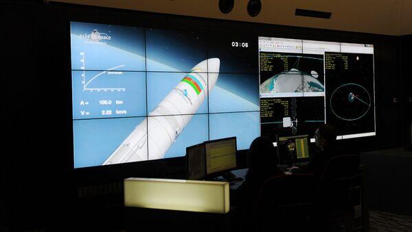 Запуск на орбиту первого азербайджанского телекоммуникационного спутника Azerspace-1, 8 февраля 2013 года - Sputnik Азербайджан