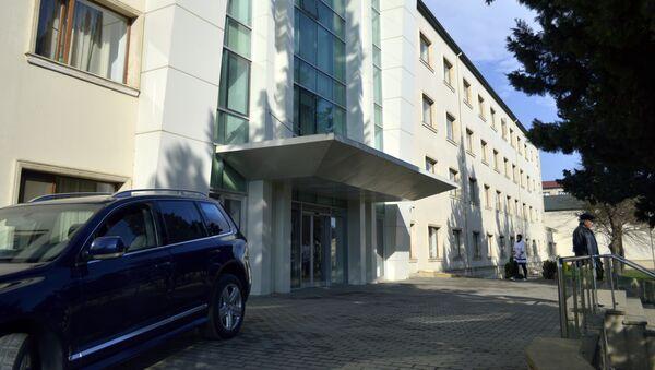 Центральная больница Лянкярана, фото из архива - Sputnik Азербайджан